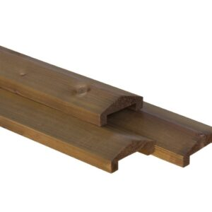 Nobifix Afdekkap voor tuinscherm dakvorm 3,5x9cm