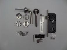 RVS cilinderslot compleet