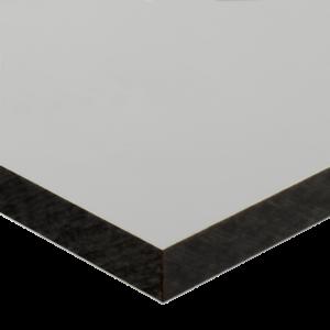 Lino compact massief kunststof 6mm  Wit