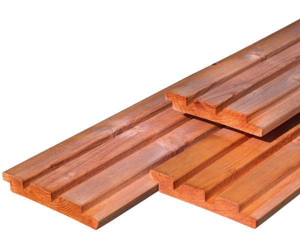 Triple profiel Red Class Wood 2,2×14,0x400cm