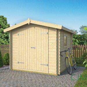 Blokhut Valery 245x245cm – Tuinschuur