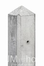 Betonpaal Lichtgrijs diamantkop 10x10cm