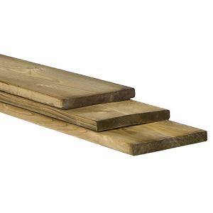 Plank 1,8x10x240cm Celfix geïmpregneerd