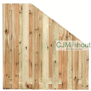 CJM Afbouwscherm180x90/180