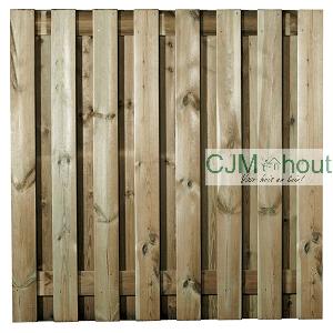 CJM-Robuust Scherm Recht 180x180cm