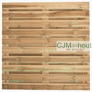 CJM Horizontaalscherm Recht 180x180cm
