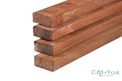 Regel Hardhout Azobé 4,5×6,8x300cm