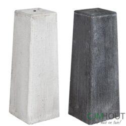 Overkapping Maaseik (DHZ) Geïmpregneerd 600x300cm