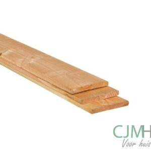 Plank geschaafd Douglas 1,6×14,5cm