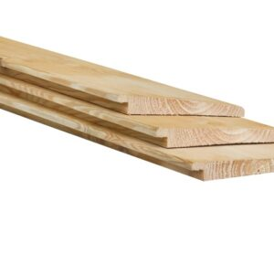 Zweeds rabat 1,0-2,0×14,5x250cm onbehandeld