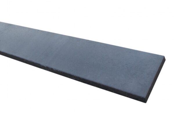 Onderplaat beton 2 zijden glad 184cm Antraciet
