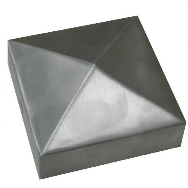 Ornament piramidekap rvs