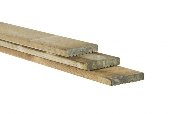 Vlonderplank 2,8×14,5cm Celfix vuren geïmpregneerd